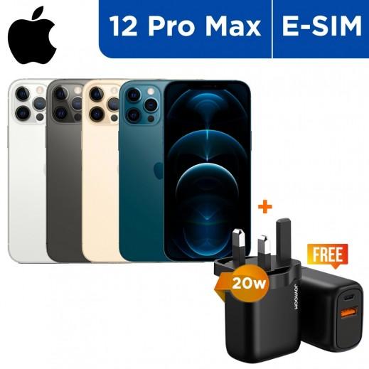 أبل – هاتف آيفون 12 برو ماكس 5G بشريحة e-sim