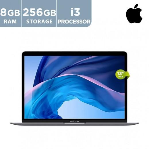 أبل - ماك بوك اير 13 بوصة 13 جيجا بايت / 256 جيجا بايت بلوحة مفاتيح إنجليزية - رمادي
