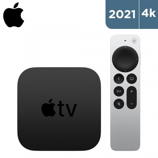 أبل - مشغل وسائط متدفقة 4K 2021 - أسود