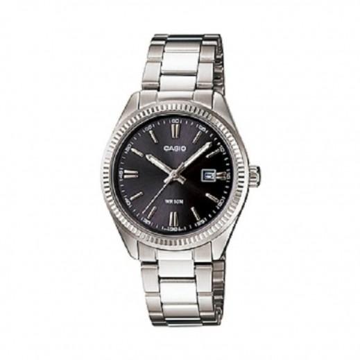 كاسيو - ساعة يد استاندرد للسيدات استانلس استيل بعقارب     - يتم التوصيل بواسطة Veerup General Trading