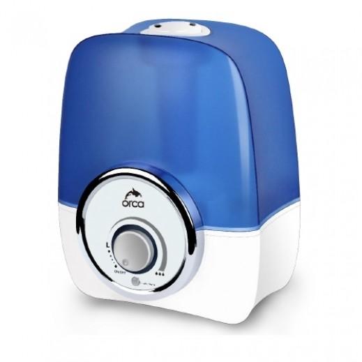 أوركا – جهاز ترطيب الهواء بالموجات فوق الصوتية سعة 5.7 لتر – أبيض