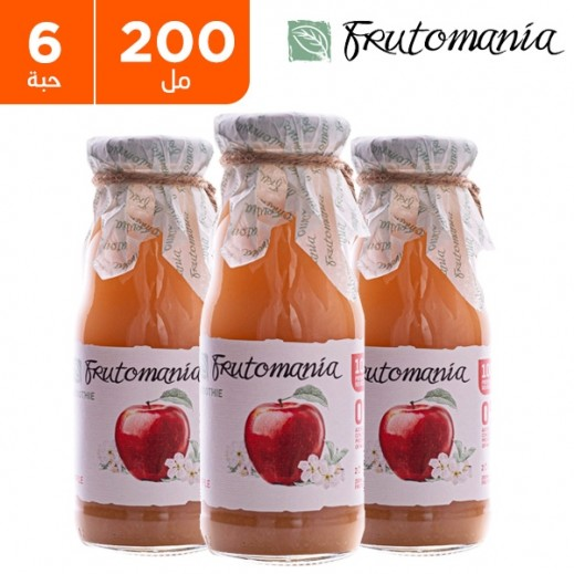 فروتومانيا - عصير التفاح خالي من السكر المضاف 6 × 200 مل