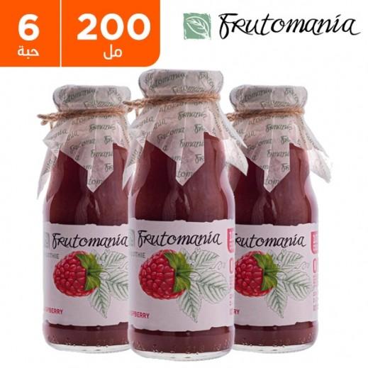 فروتومانيا - عصير توت خالي من السكر المضاف 6 × 200 مل