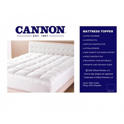 كانون - غطاء لمرتبة السرير كوين مقاس 152×200 سم
