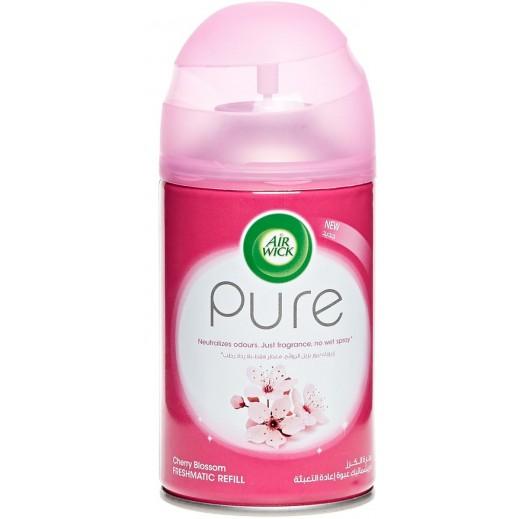 """إيرويك – معطر الجو ايروسول فريشماتيك جهاز اعادة تعبئة برائحة """"زهور الكريز"""" 250 مل"""