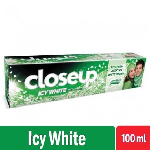 كلوس أپ - معجون أسنان أيسي وايت منثول 100 مل