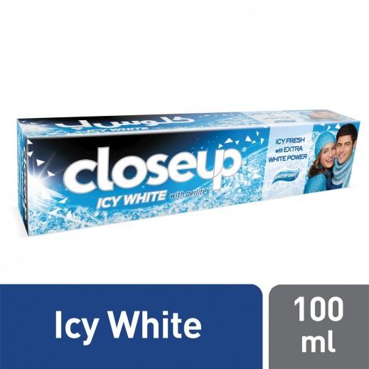 كلوس أپ - معجون أسنان أيسي وايت ونتربلاست 100 مل