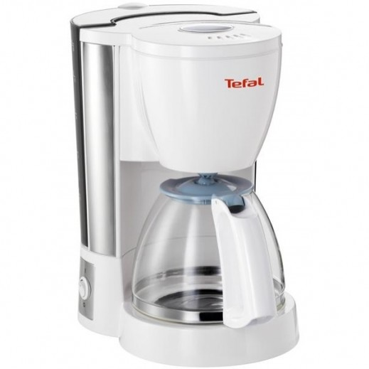 """تيفال – صانعة القهوة """"إكسبريس"""" – أبيض"""