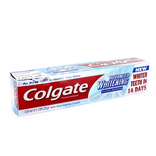 كولجيت – معجون أسنان أدفانسيد مبيض 125 مل