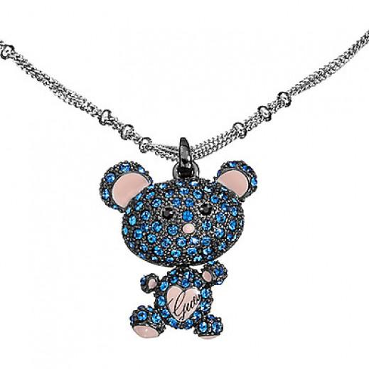 جيس - قلادة الدب بلون أزرق