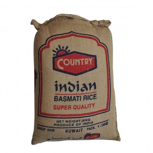 كانتري - أرز بسمتي سوبر كواليتي هندي 20 كجم