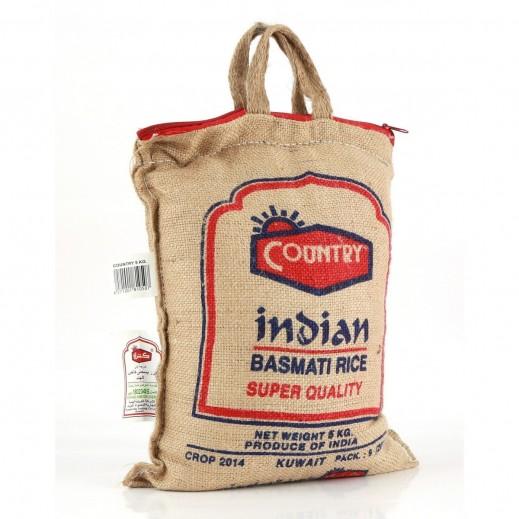 كانتري - أرز بسمتي XL سوبر كواليتي هندي 5 كجم