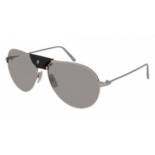 كارتير – نظارة شمسية (Santos) رمادي للرجال  - يتم التوصيل بواسطة Waleed Optics
