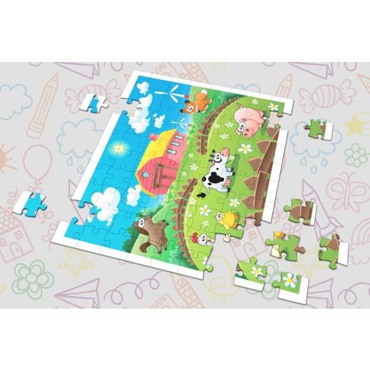 لعبة الصور المتقاطعة - تصميم المزرعة بواسطة Berwaz.com - يتم التوصيل بواسطة Berwaz.com