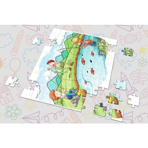 لعبة الصور المتقاطعة - تصميم صيد السمك بواسطة Berwaz.com - يتم التوصيل بواسطة Berwaz.com