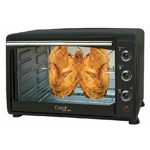 امجوي باور فرن تحميص كهربائي (شوي بالدوران + تدوير الهواء الساخن + صينية خبز) 60 لتر  - يتم التوصيل بواسطة U MARK ELECTRONICS