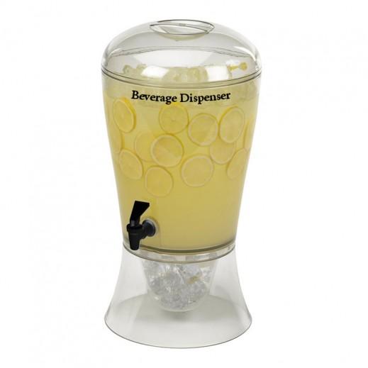 أكريليك - موزع العصير 6 لتر - شفاف