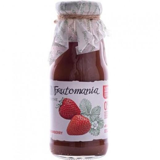 فروتومانيا - عصير الفراولة خالي من السكر المضاف 200 مل