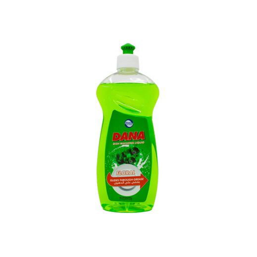 دانا - سائل غسيل الصحون برائحة الورد 1 لتر
