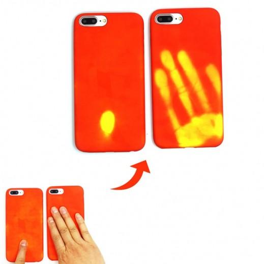غطاء حراري لأيفون 7 – أحمر وأصفر