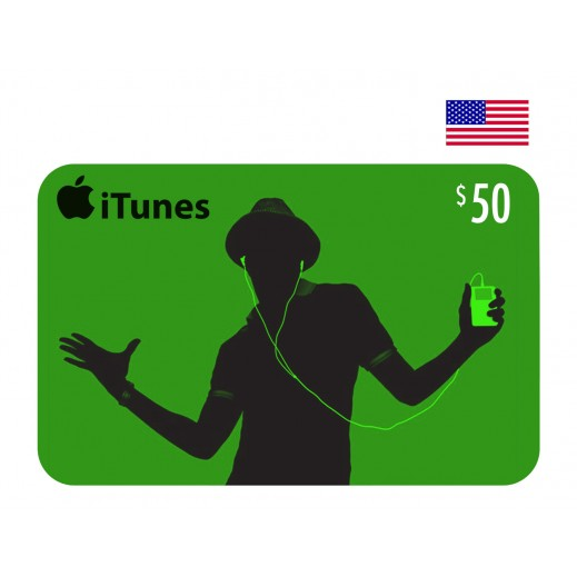 بطاقة أي تونز بقيمة 50 دولار للحسابات الأمريكية فقط –  إستلم فورا على بريدك الإلكتروني