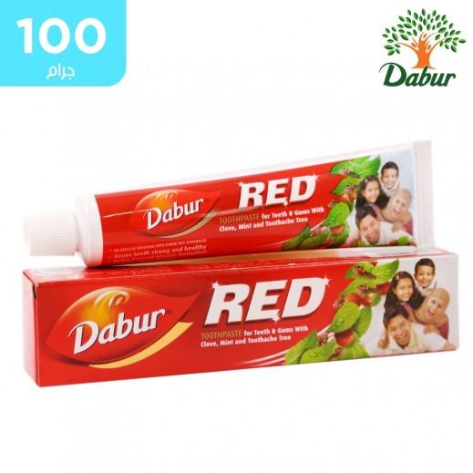 دابر - معجون الأسنان الأحمر للأسنان واللثة 100 جم