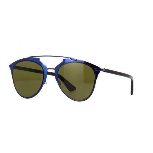 ديور - نظارة شمسية أفييتور لكلا الجنسين أزرق وأسود - مقاس 52