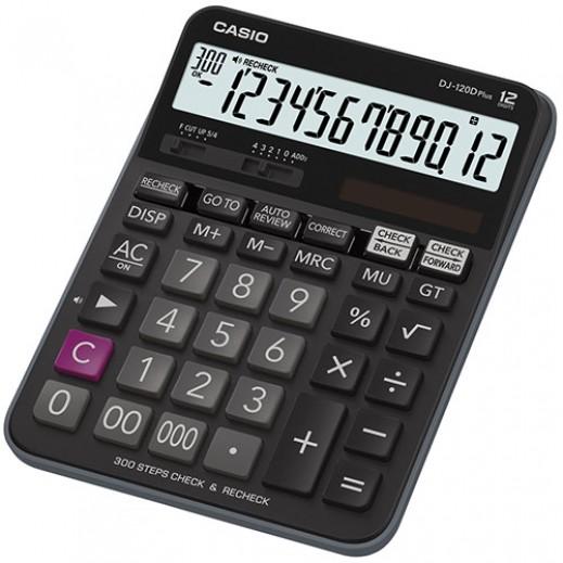كاسيو – آلة حاسبة فئة Dj-120D