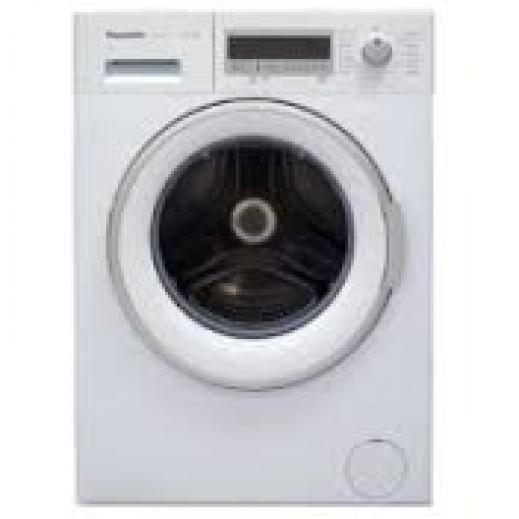 باناسونيك – غسالة ملابس تحميل أمامي 8.5 كجم 5 كجم تجفيف 8 برنامج غسيل – أبيض - يتم التوصيل بواسطة EASA HUSSAIN AL YOUSIFI & SONS COMPANY