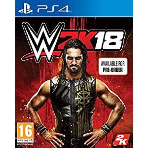 لعبة WWE 2K18 لبلاي ستيشن 4 – نظام PAL (تعليق عربي)