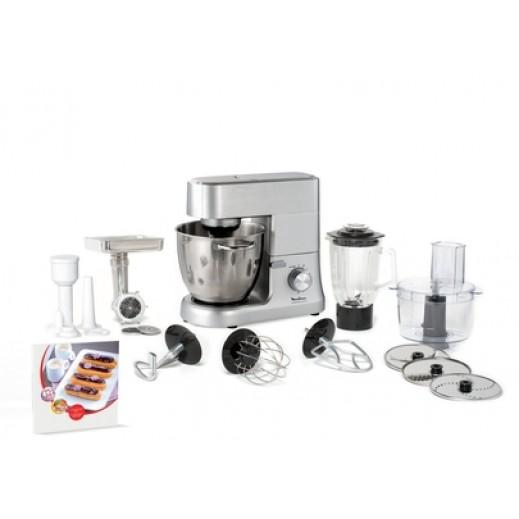 مولينكس – ماكينة المطبخ 1500 واط – فضي - يتم التوصيل بواسطة  AL-YOUSIFI  بعد 3 ايام عمل