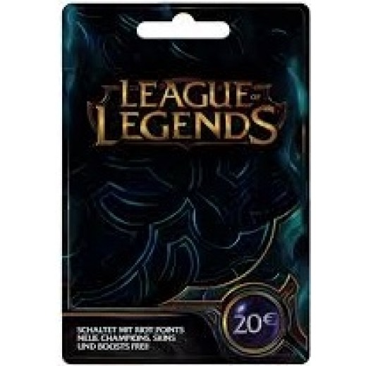 €20 League Of Legends - Delivery by E-mail