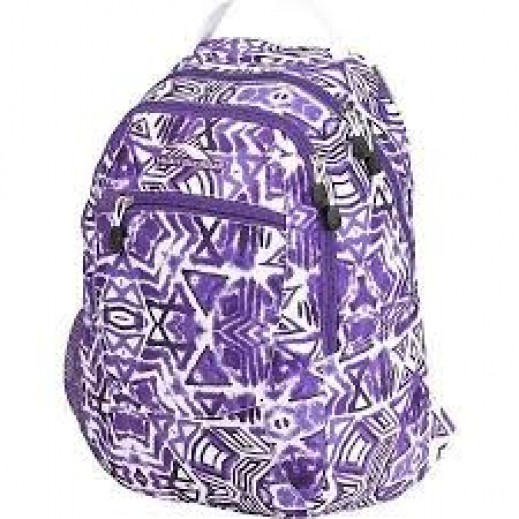 هاي سيرا – حقيبة ظهر كورف  – لون أزرق مزركش