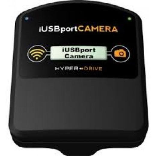 هايبر درايف – موصل لاسلكي iUSB للتحكم بالكاميرا عن بعد وشحن الأجهزة المحمولة - أسود