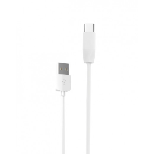 Hoco Rapid Charging Cable Type-C Port 1m White