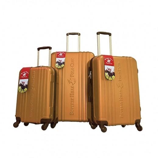 بولو - طقم حقائب سفر يونيتي 3 حبة - برونزي