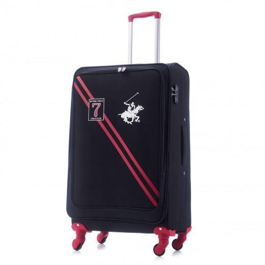 بولو - حقيبة سفر سيفين بقفل TSA حجم متوسط - أزرق
