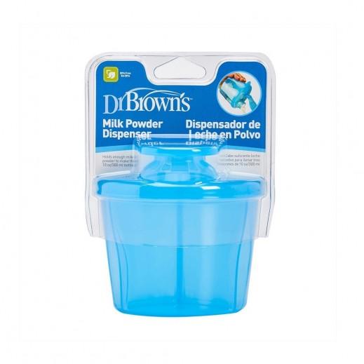 دكتور براونز – موزع مسحوق حليب الأطفال – أزرق