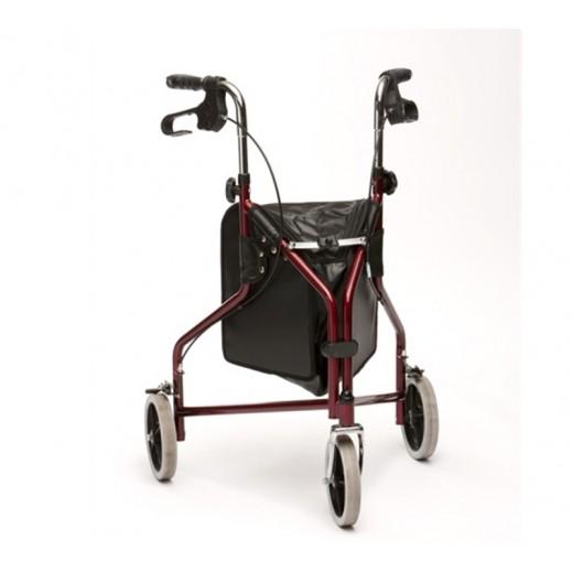 درايف – مشاية طبية 3 عجلات مع حقيبة وسلة - يتم التوصيل بواسطة Al Essa Company