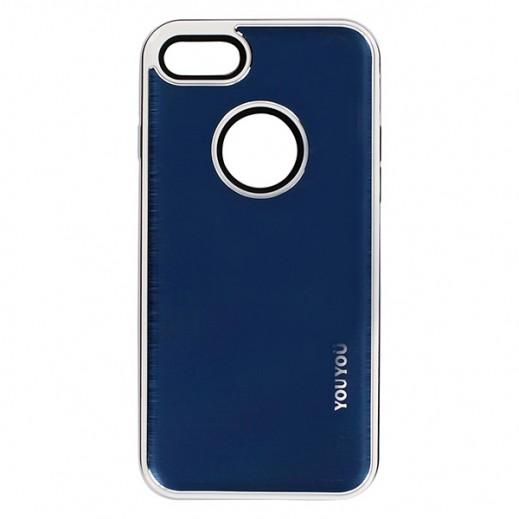 يويو – غطاء حماية خلفي لأي فون 7 – أزرق