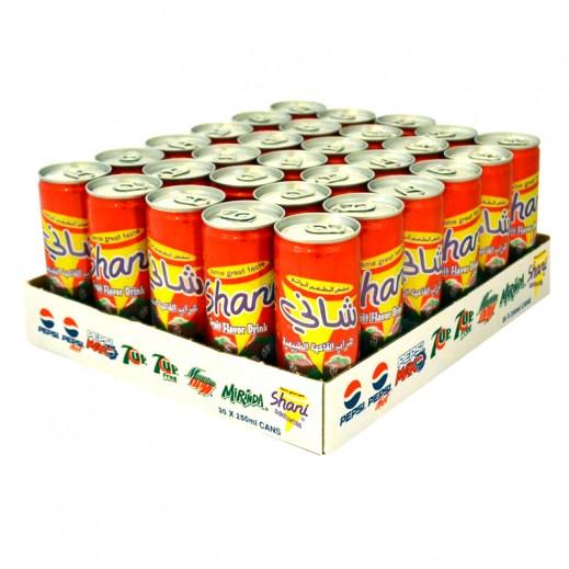 شاني – شراب الفاكهة الطبيعية - كرتون 30 حبة × 250 مل