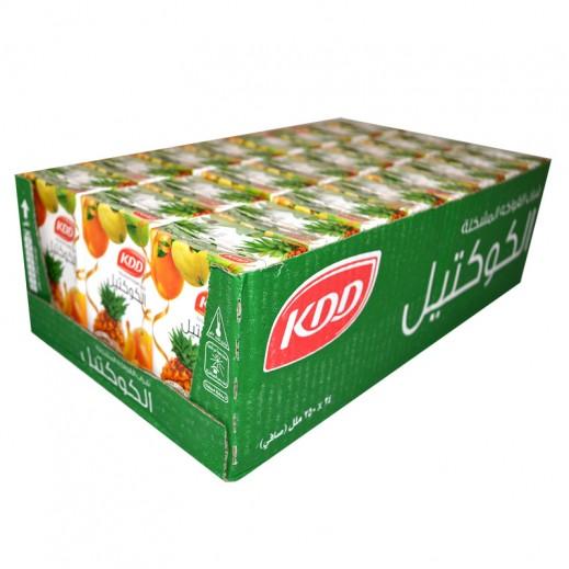 كى دى دى - عصير الكوكتيل - كرتون 24 حبة فى 250 مل