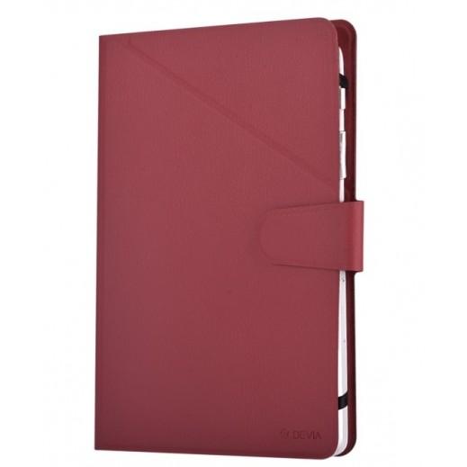 """دفيا – غطاء قابل للطي للأيباد 8"""" – احمر"""