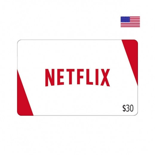 NetFlix Gift Card $30 - Delivered by Email