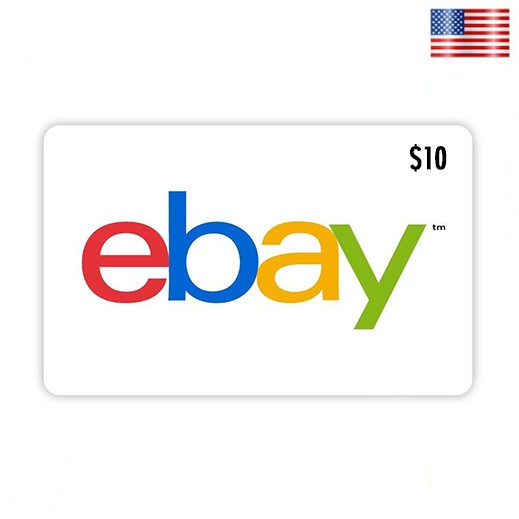 $10 eBay Gift Card - Delivery by E-mail