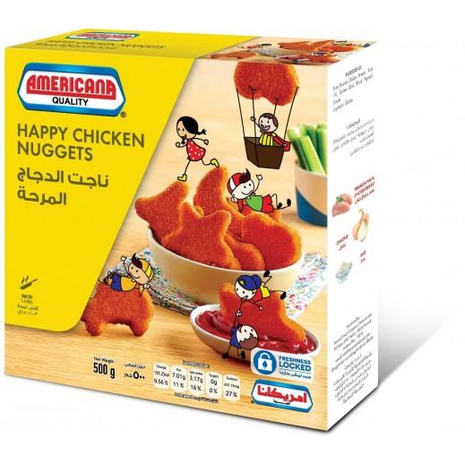 أمريكانا - ناجت الدجاج المرحة 500 جم