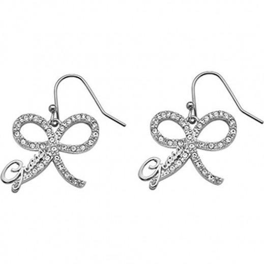 Guess Silver Ribbon Earings - يتم التوصيل بواسطة Beidoun