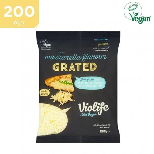 فيولايف - جبنة موزاريلا نباتية خالية من الجلوتين 200 جم