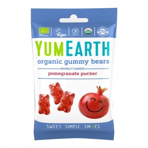 يامي إيرث – حلوى الرمان عضوية طبيعية 50 جم