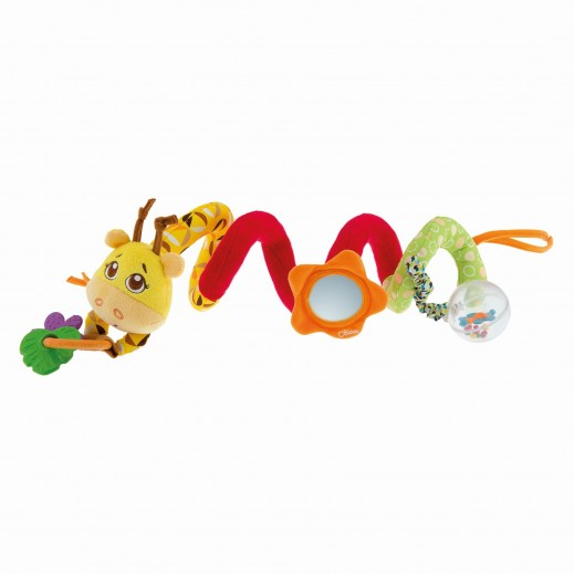 شيكو – لعبة السيدة زرافة على شكل حبل لعربية الأطفال